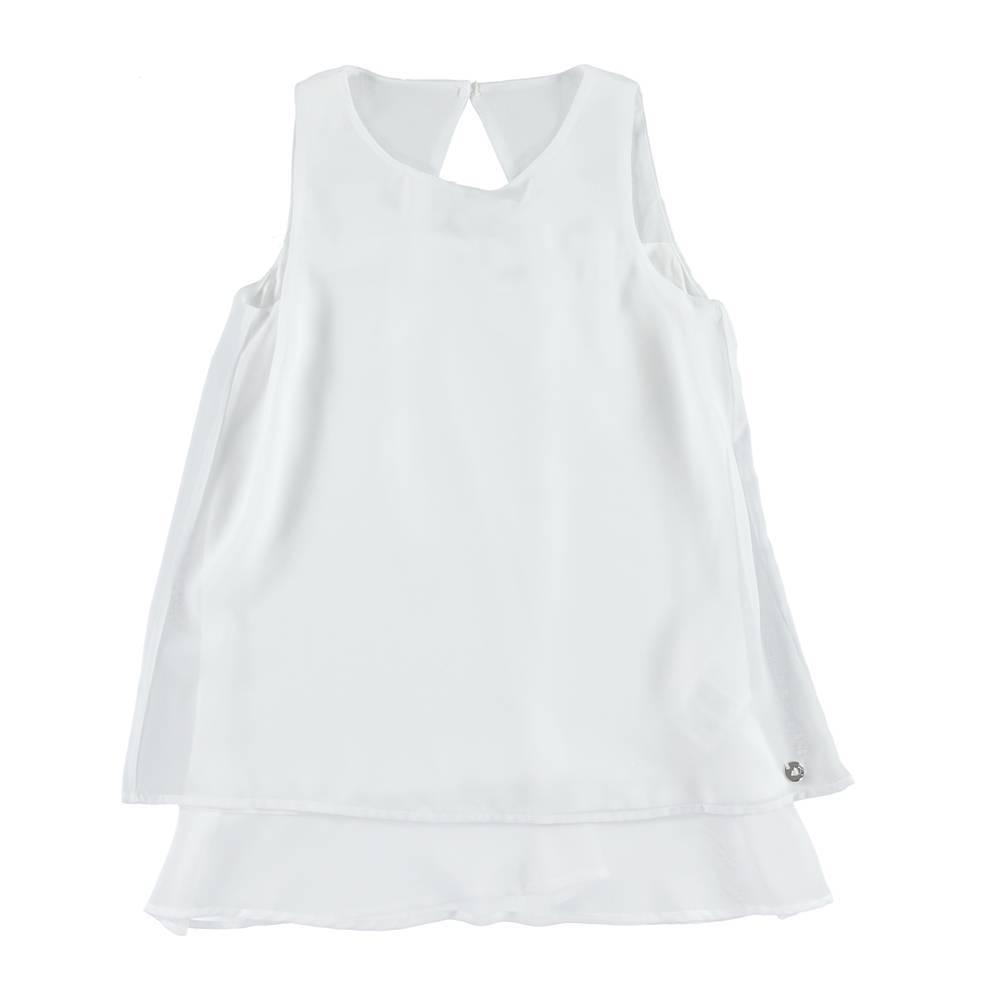Платье для девочки iDO летнее хлопок трикотаж 4.S879.00/0113