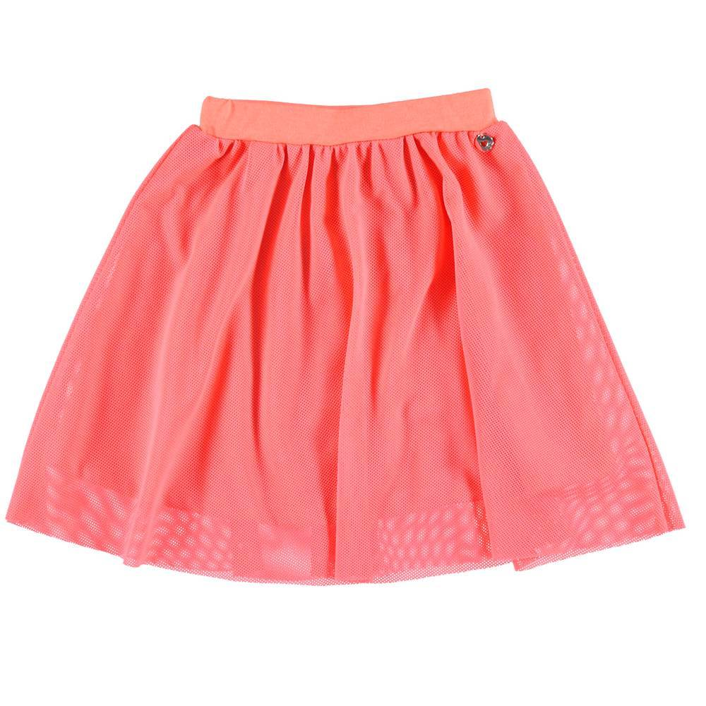 Юбка для девочки iDO летняя на пышняя на подкладке 4.S912.00/5824