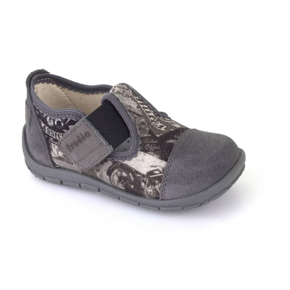 Капці для мальчикам Froddo текстиль перепонка липучки серый G1700176-2/Grey