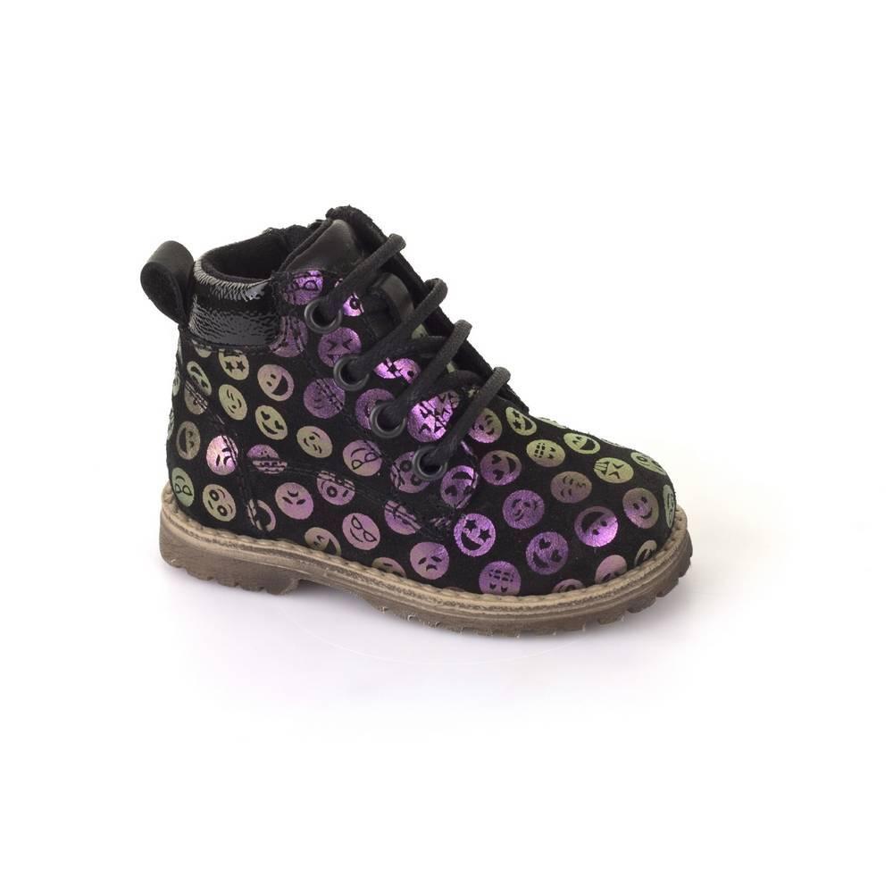 Ботинки для девочки Froddo натуральна кожа молния G2110056-1/Multicolour