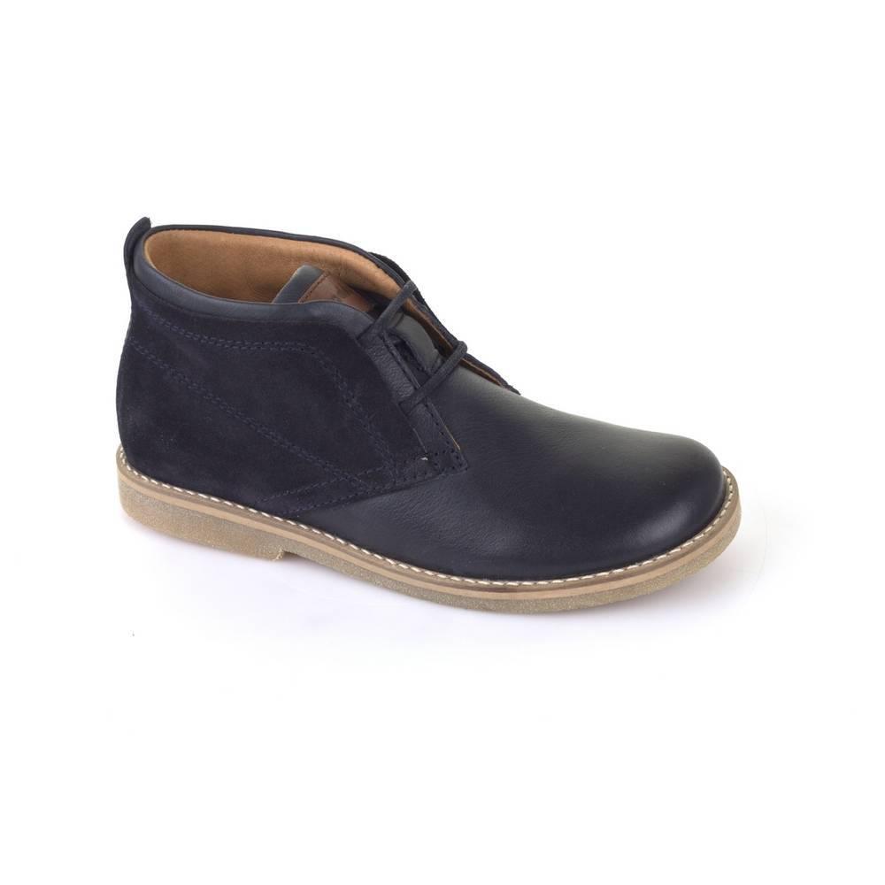 Ботинки для мальчика Froddo демисезонные на шнурках G3110081/DarkBlue