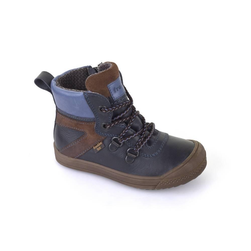 Ботинки для мальчика Froddo демисезонные натуральная кожа на шнурках молнии G3110084