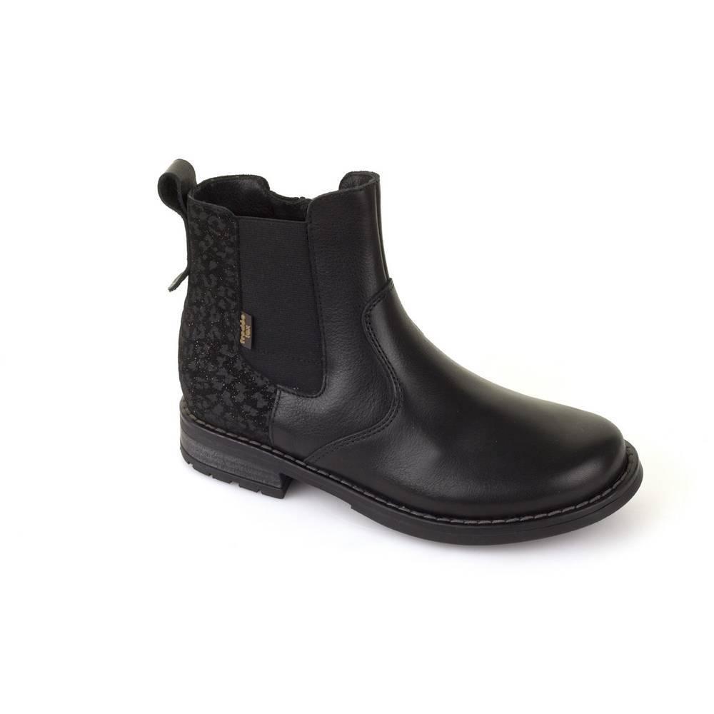 Ботинки для девочки Froddo демисезонные натуральная кожа G4160050/Black+