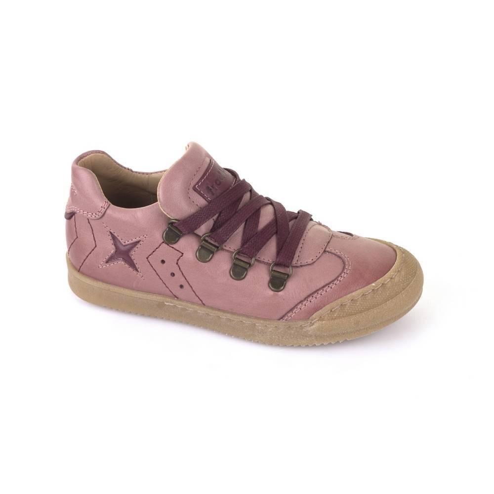 Кроссовки для девочки Froddo демисезонные натуральная кожа на шнурках