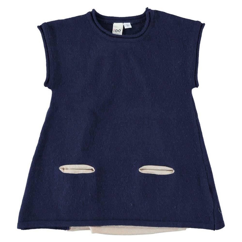 Платье для девочки iDO вязанная без рукава 4.T641.00/3854