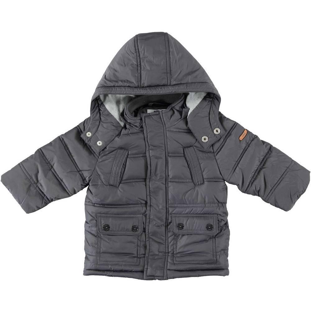 Куртка для мальчика iDO демисезонная стеганная с капюшоном 4.T587.00/0566