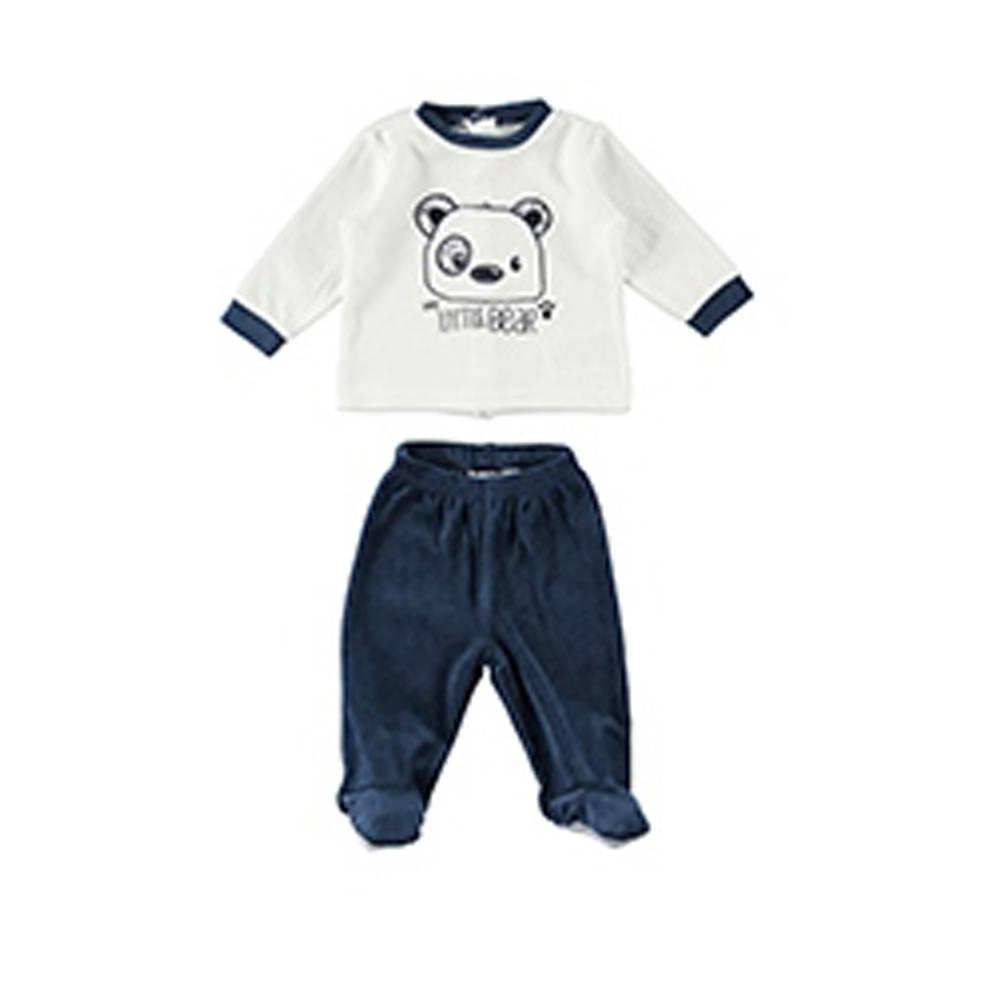 Комплект для мальчика iDO новорожденного трикотаж велюровый 4.T202.00/8132