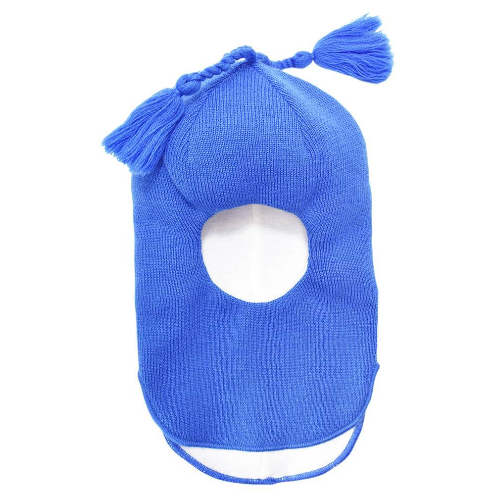 Шапка для мальчика LENNE зимняя вязаная голубой MAC