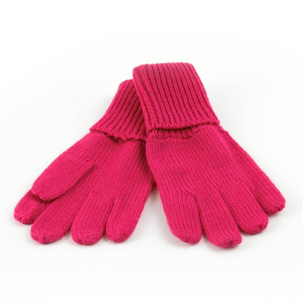 Перчатки для девочки LENNE зимние шерстяные розовый KIRA