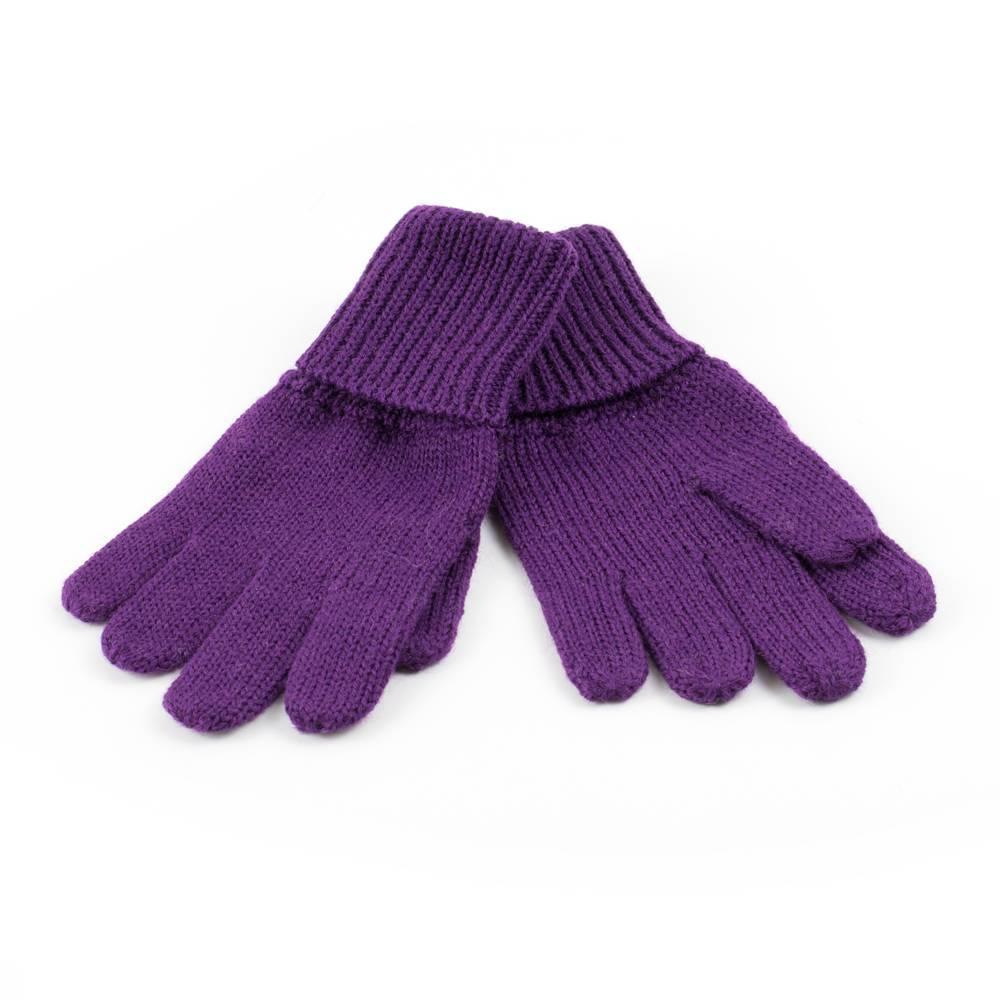 Перчатки детские LENNE зимние вязаные сиреневый KIRA