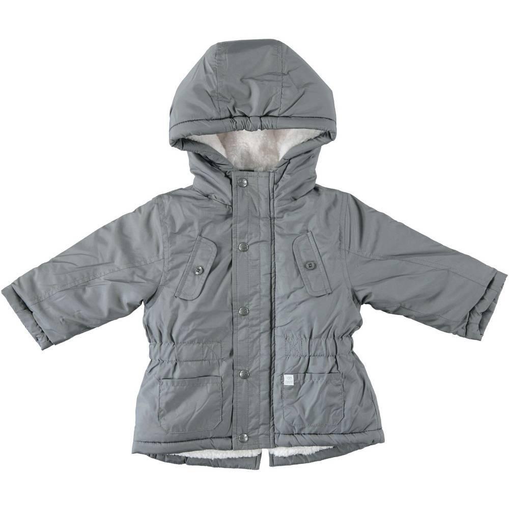Пальто для мальчика iDO зеленое демисезонное 4.T229.00/0564