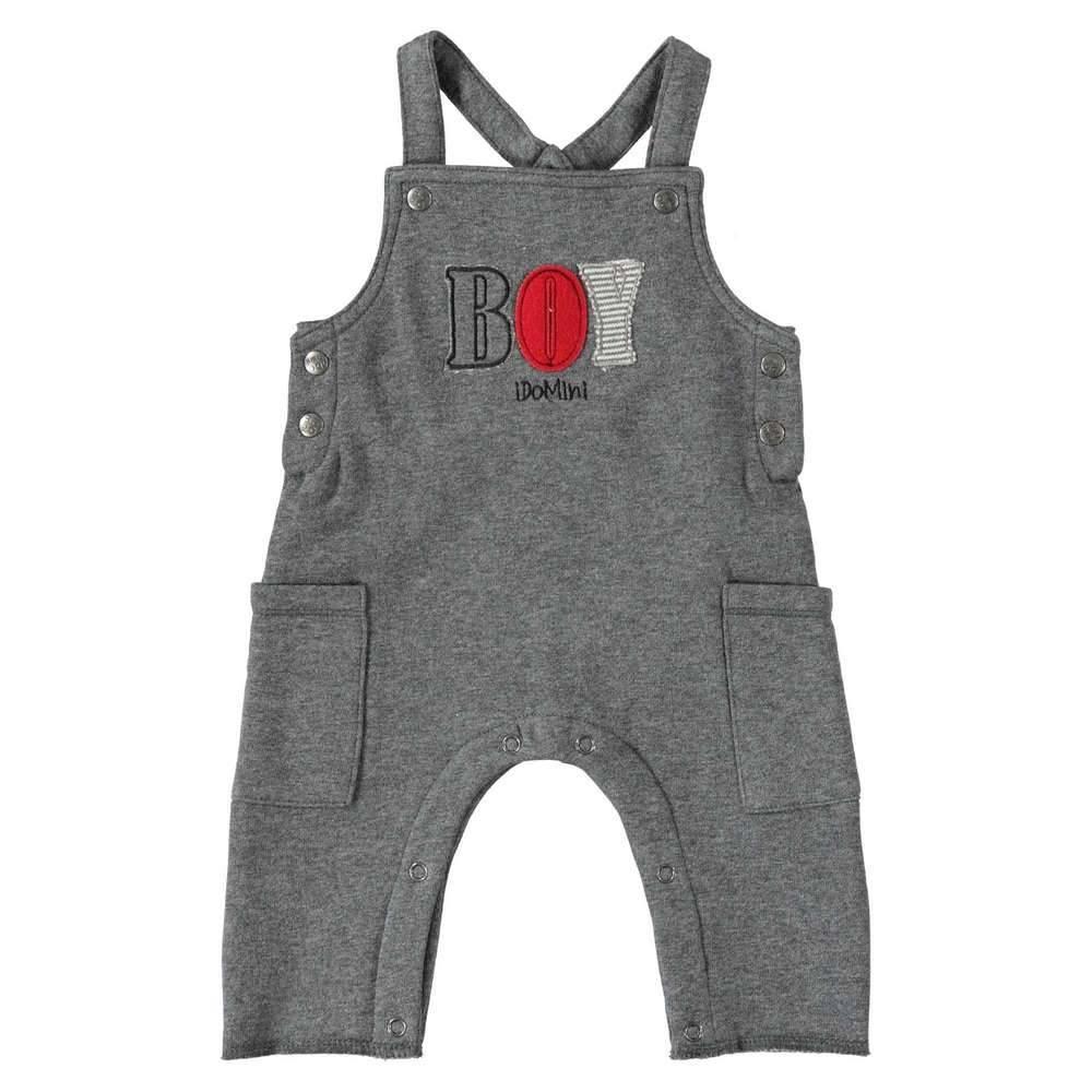 Человечек для мальчика iDO серый трикотаж 4.T256.00/8994