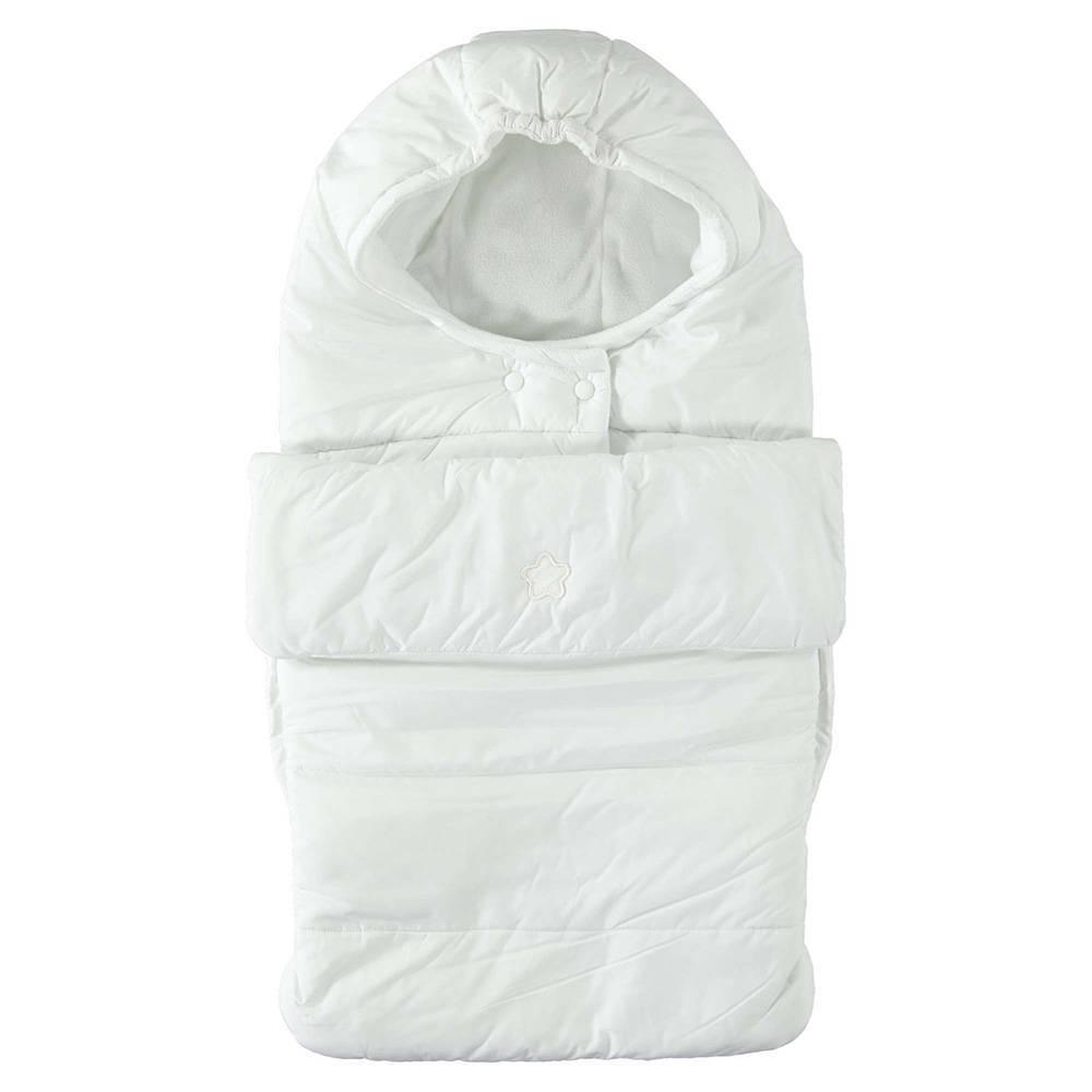 Спальный мешок iDO белый велюровый 4.T292.00/0112