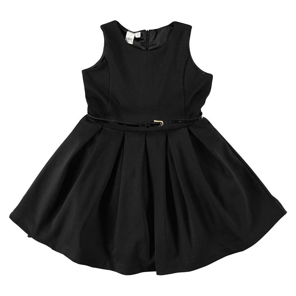 Платье для девочки iDO отрезная талия ремешок 4.T969.00