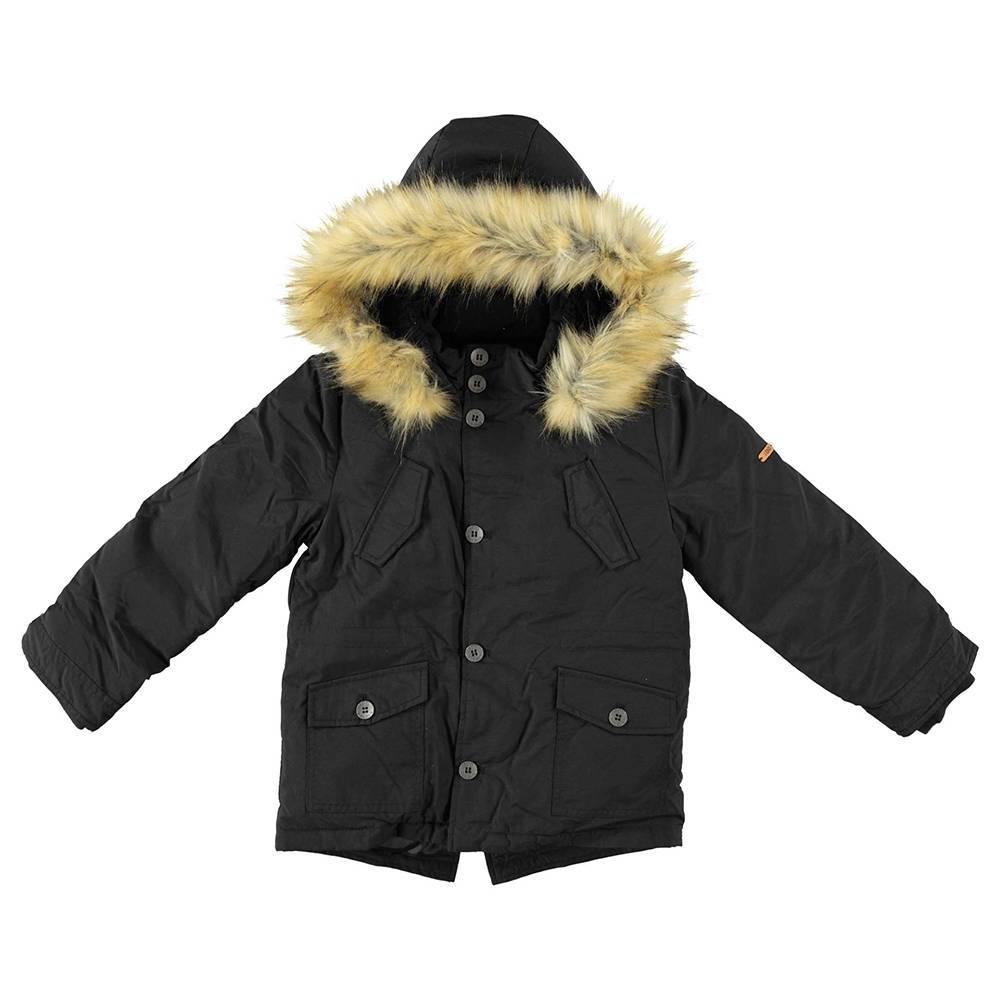 Куртка для мальчика iDO зимняя с капюшоном 4.T794.00/0658