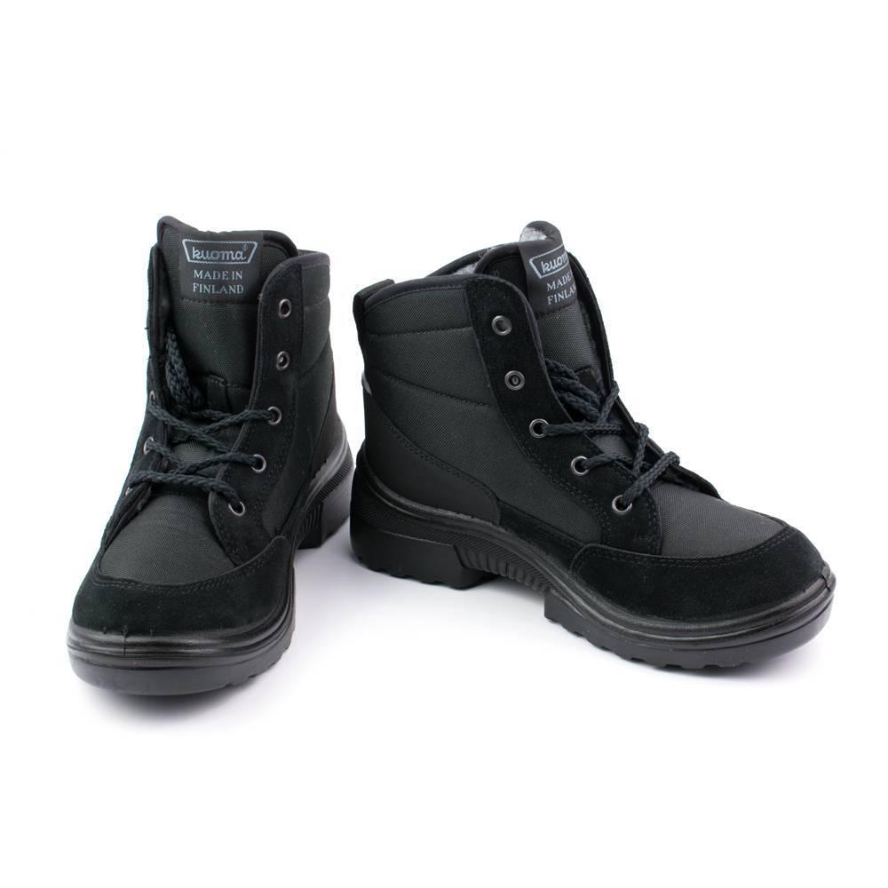 Ботинки для мальчика KUOMA зимние на липучках 1904/20