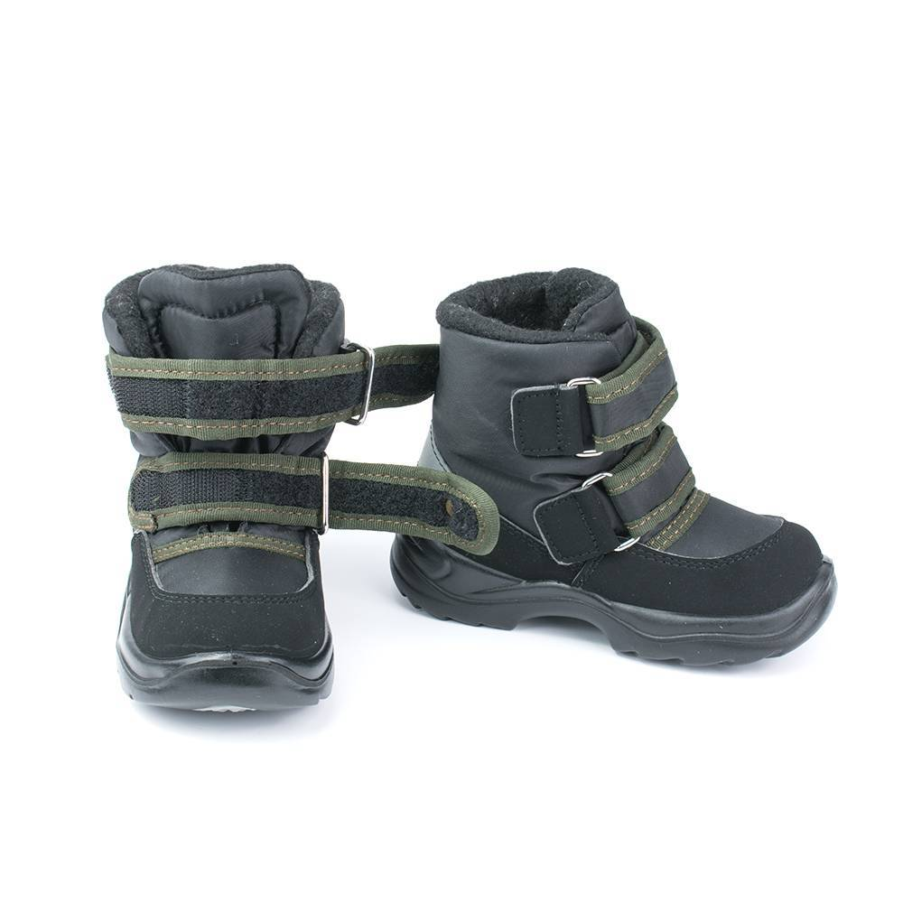 Ботинки для мальчика Skandia зимние на липучках 8427R/TuonoDinamic_BlkMili