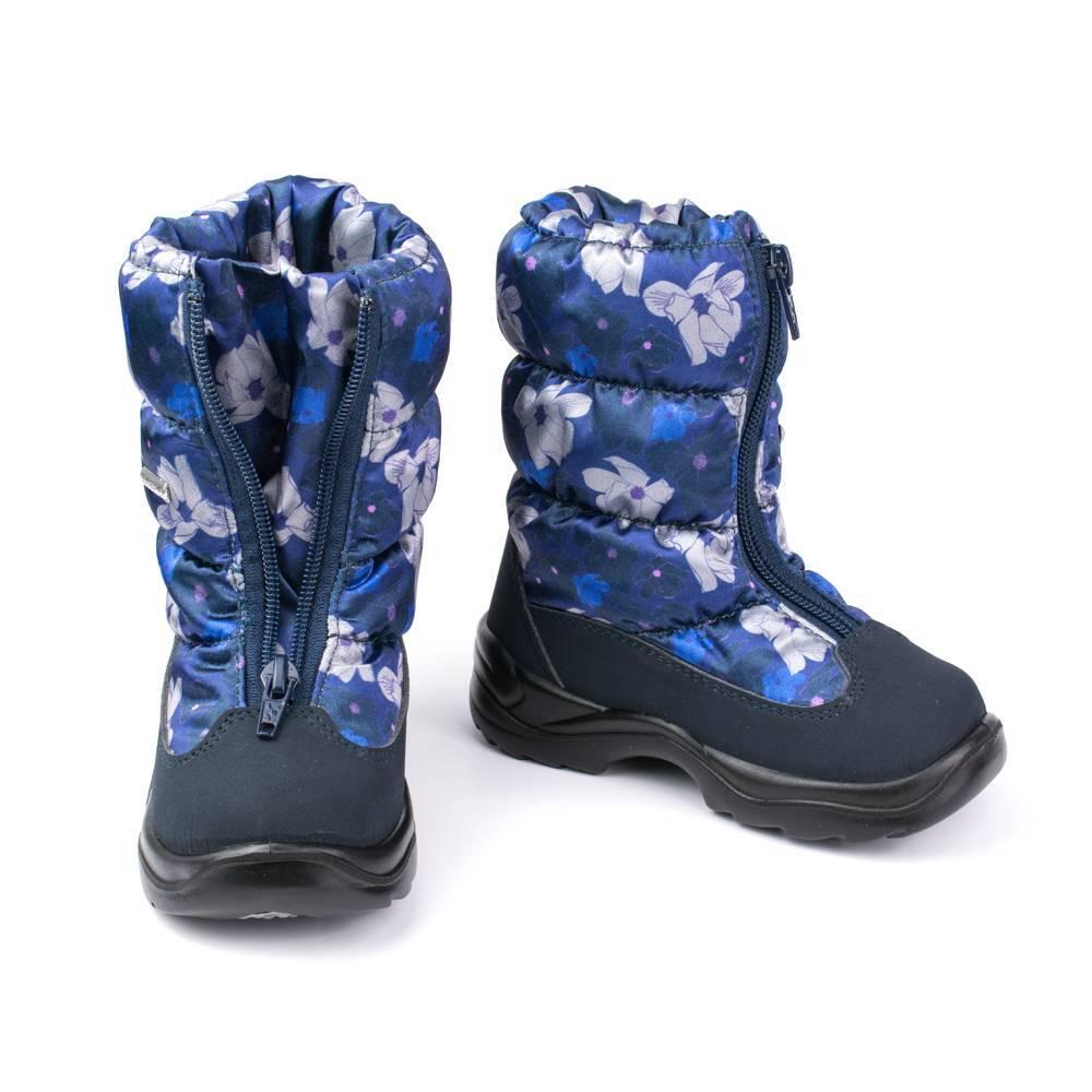 Сапоги для девочки Skandia зимние молния по центру 8462R/Tuono/