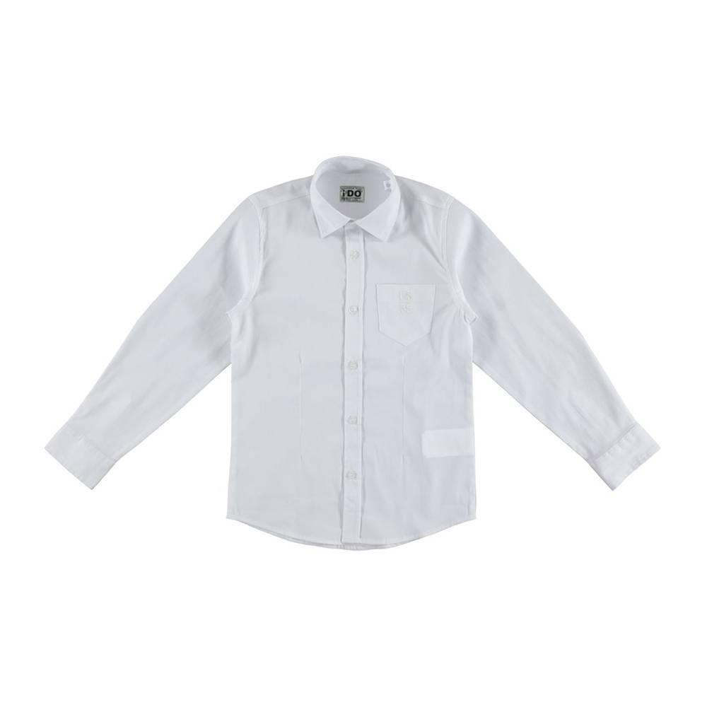 Рубашка iDO для мальчика подростка классика 4.R835.00/0113