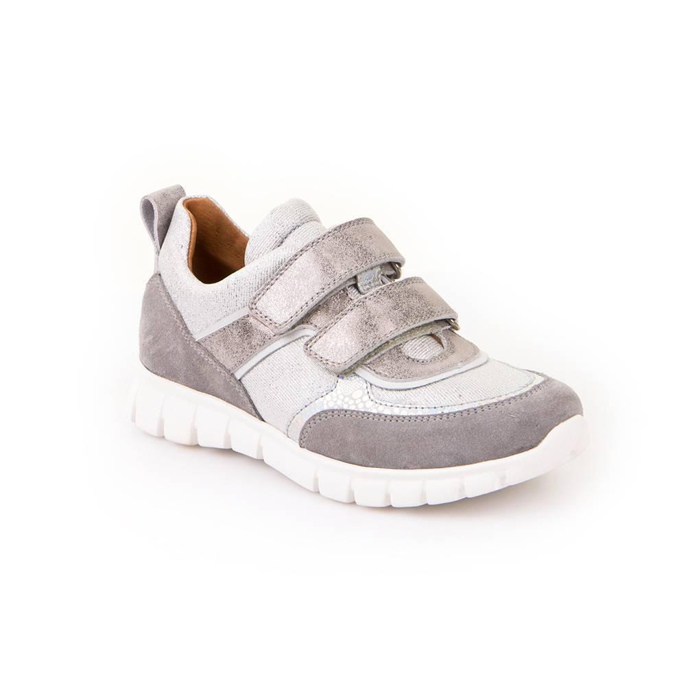Кроссовки для девочки Froddo демисезонные натуральная кожа на липучках G3130110