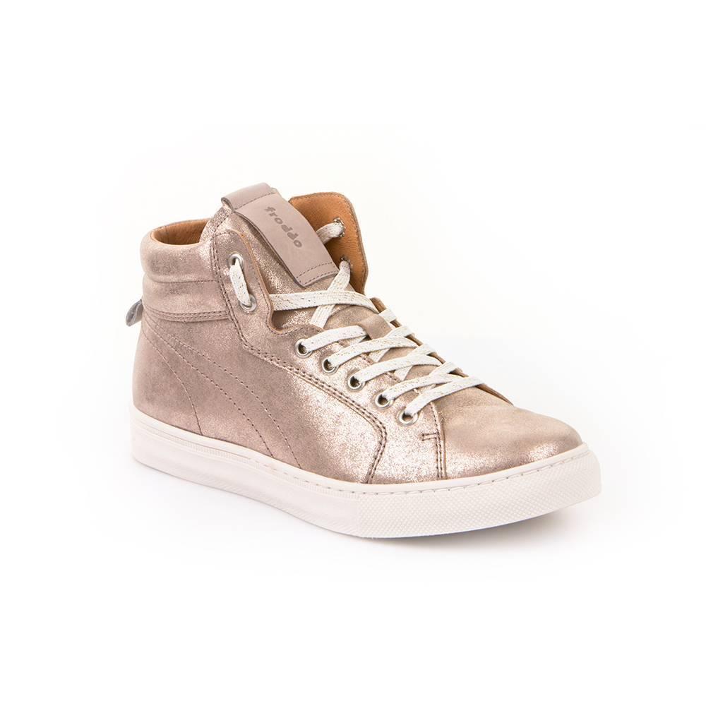 Ботинки для девочки Froddo демисезонные натуральная кожа G3110096-3/Gold+