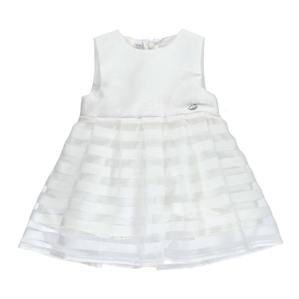 Платье для девочки iDO летнее нарядное на подкладке 4.U134.00/0112