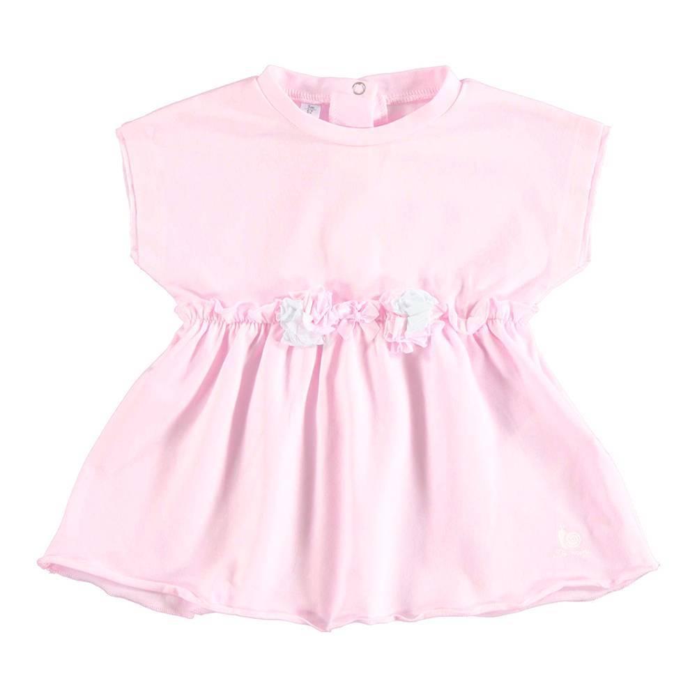 Платье для девочки iDO летнее трикотажное 4.U158.00/5819