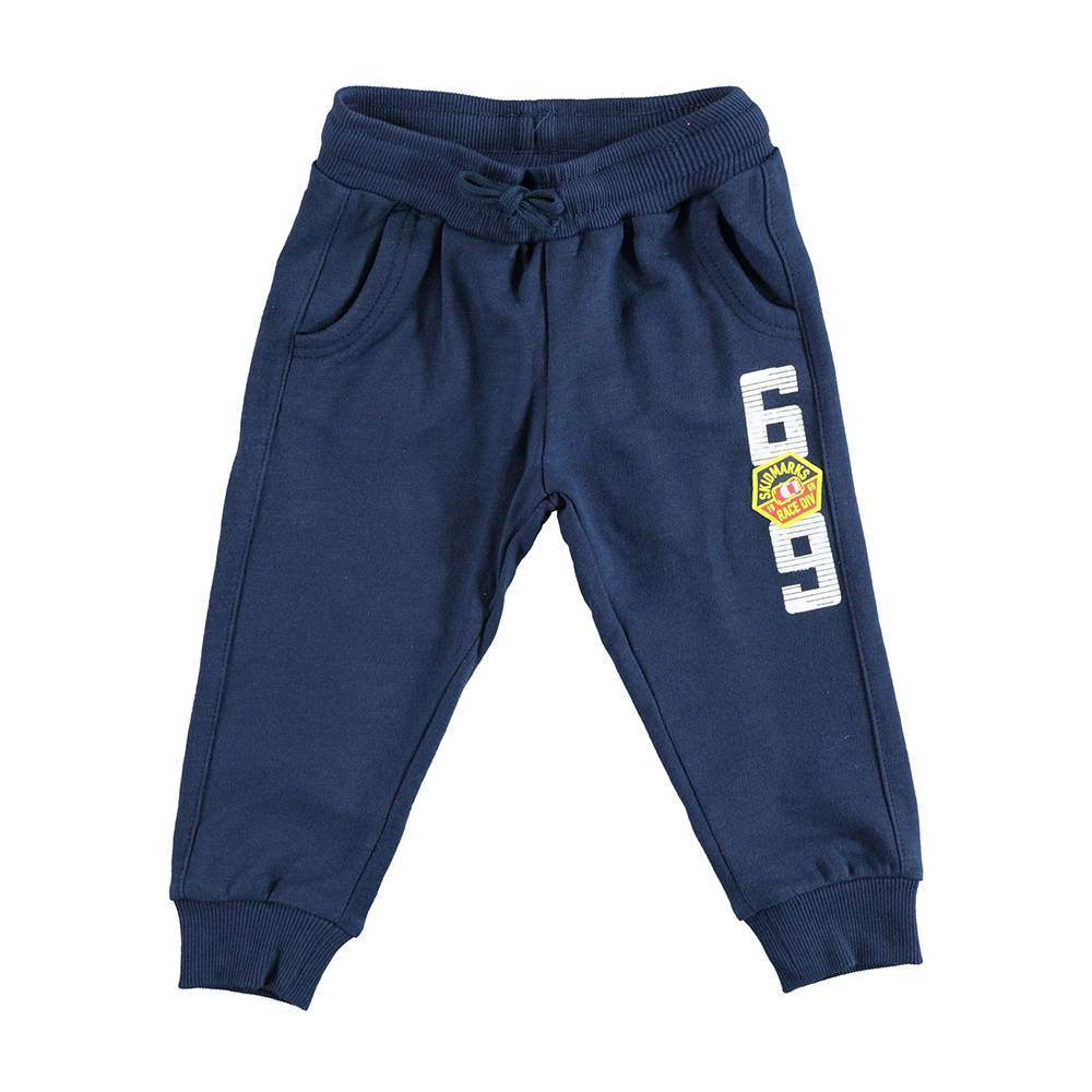Штаны спортивные для мальчика iDO хлопок трикотаж 4.U245.00/3856