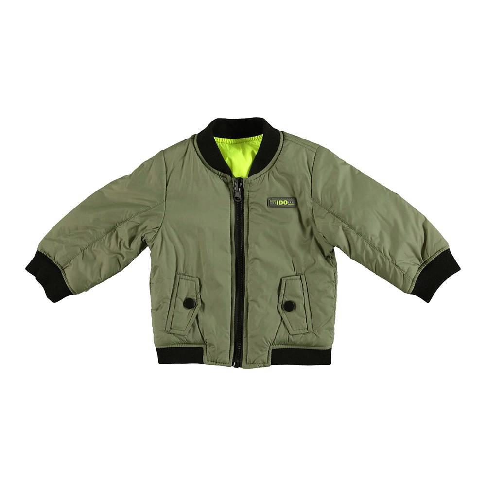 Куртка для мальчика iDO бомбер двухсторонняя демисезонная 4.U285.00/4752