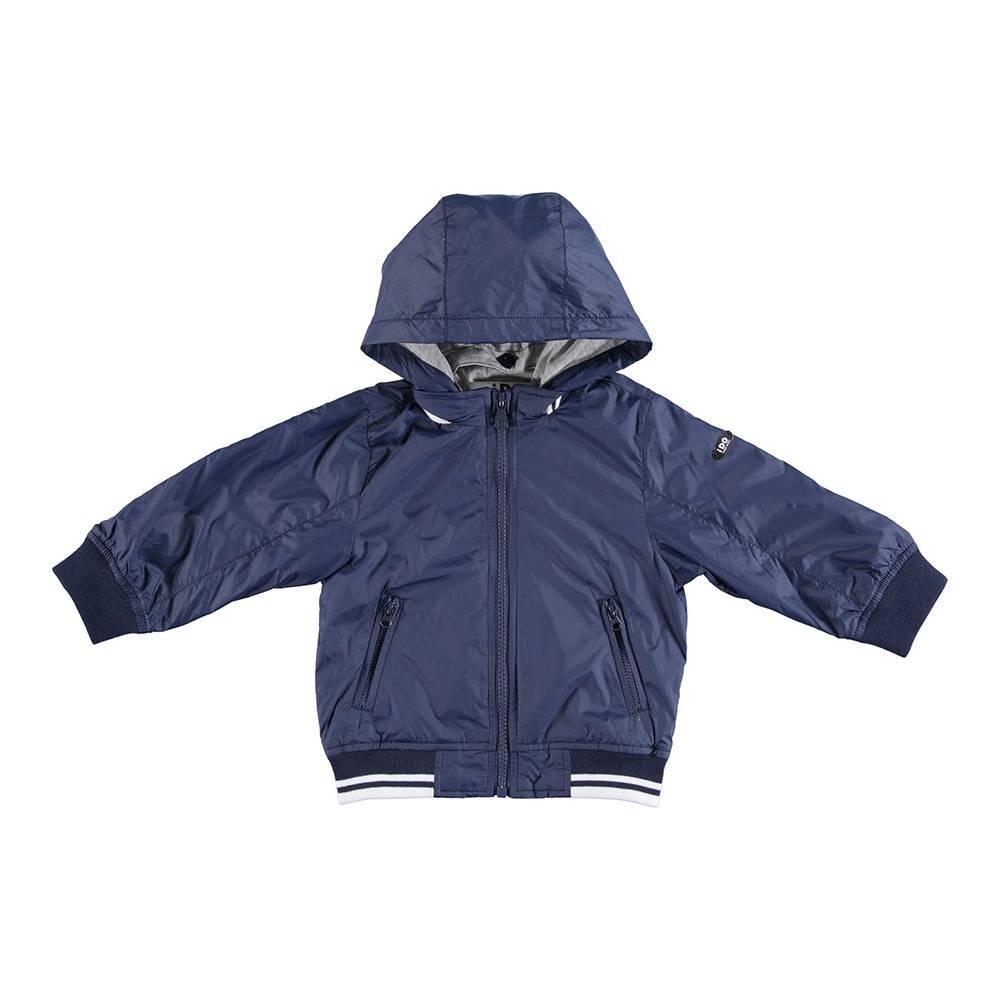 Куртка для мальчика iDO демисезонная с капюшоном на молнии 4.U288.00/3856