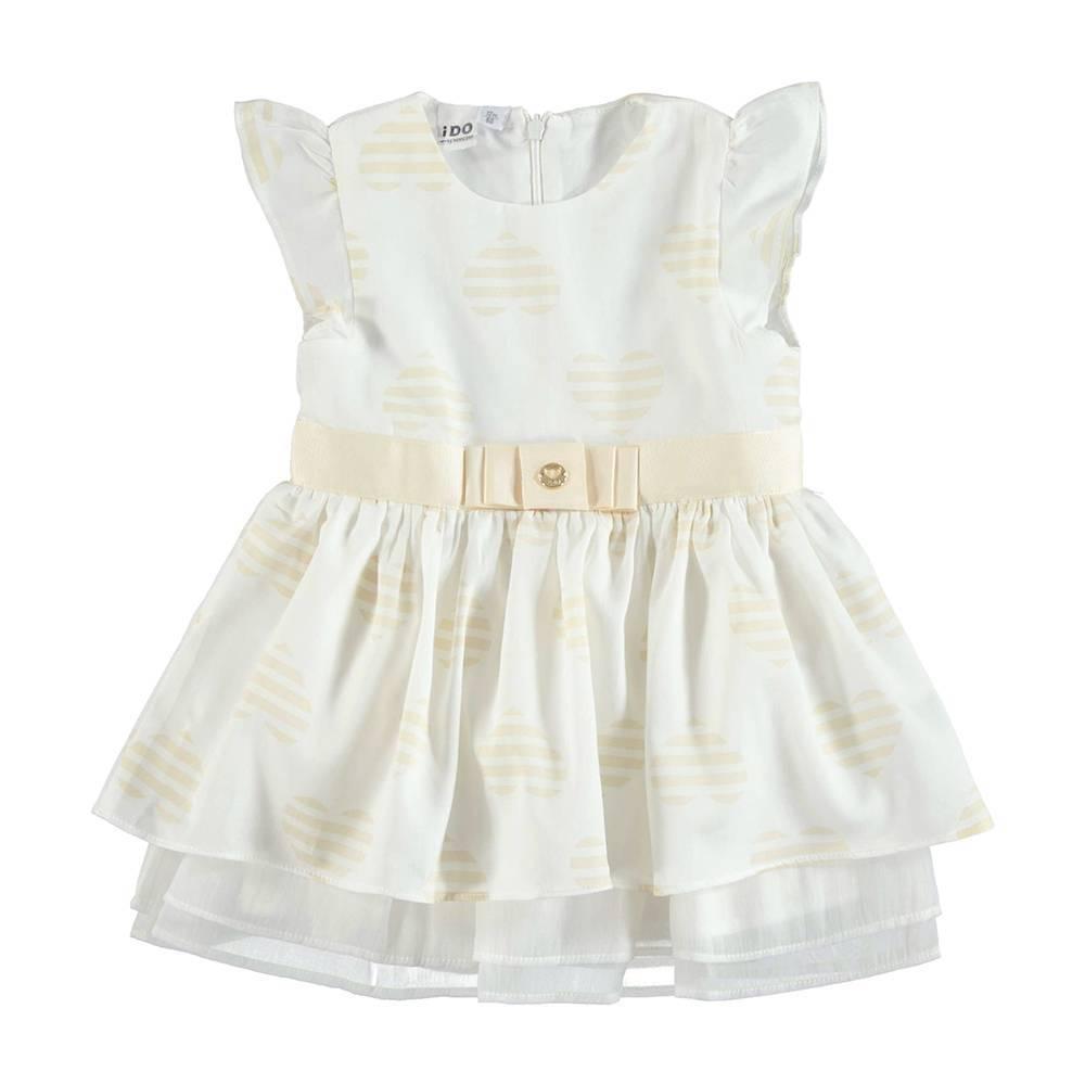 Платье для девочки iDO летнее нарядное с рюшами на подкладке 4.U335.00/6BN4