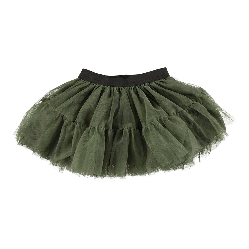 Юбка для девочки iDO нарядная пышная на подкладке 4.U373.00/4752