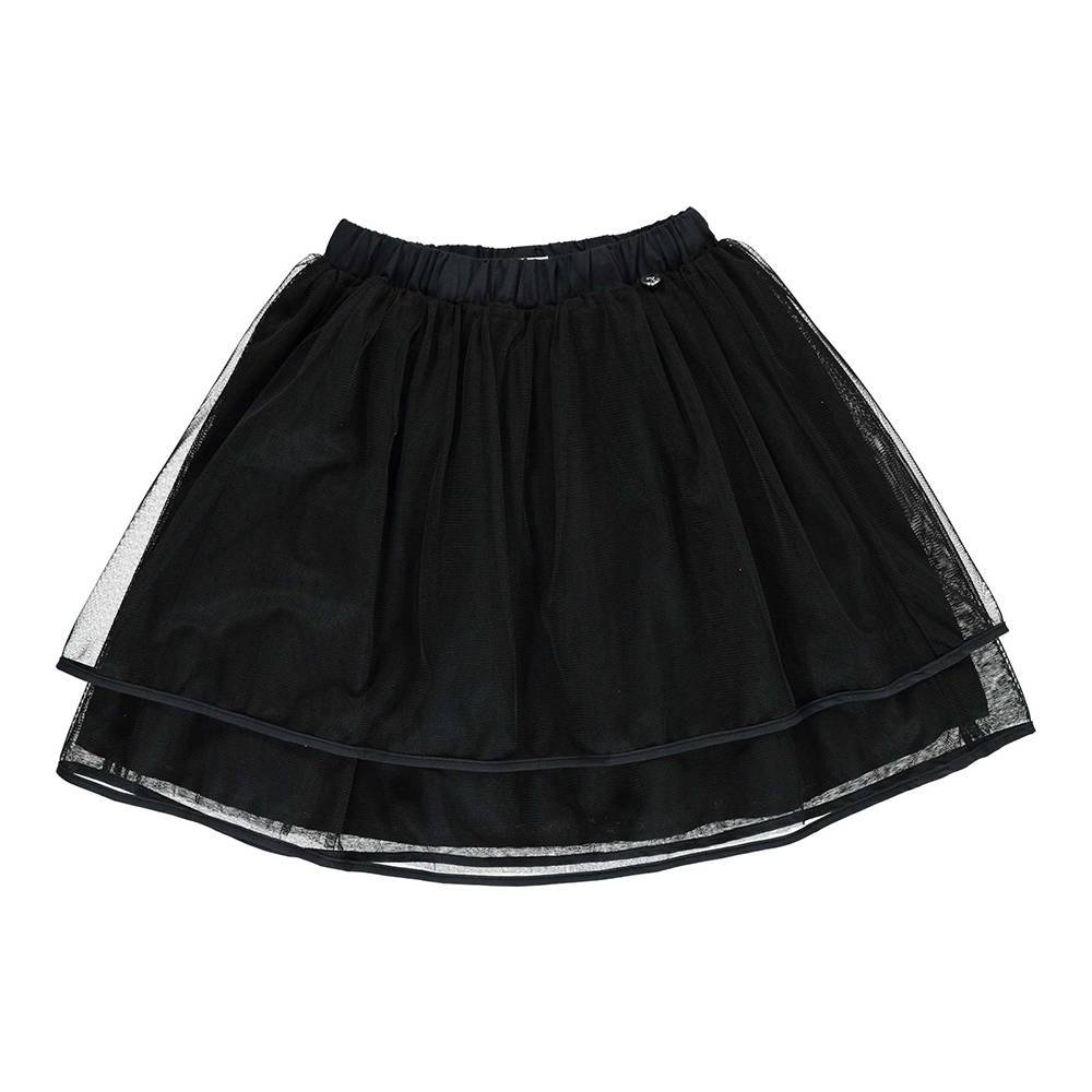 Юбка для девочки iDO нарядна пышная на подкладке муслин 4.U561.00/0658