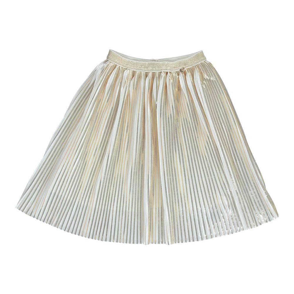 Юбка для девочки iDO плиссированная на подкладке 4.U562.00/8314