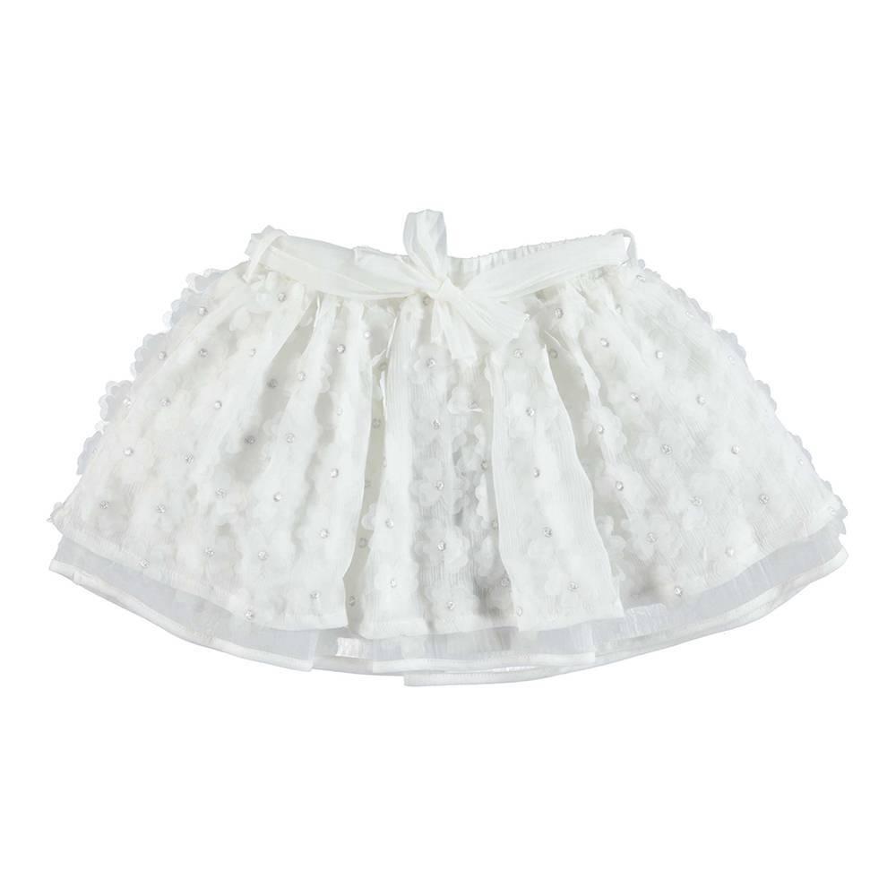 Юбка для девочки iDO элегантная нарядная пышная юбка на подкладке 4.U372.00/0112