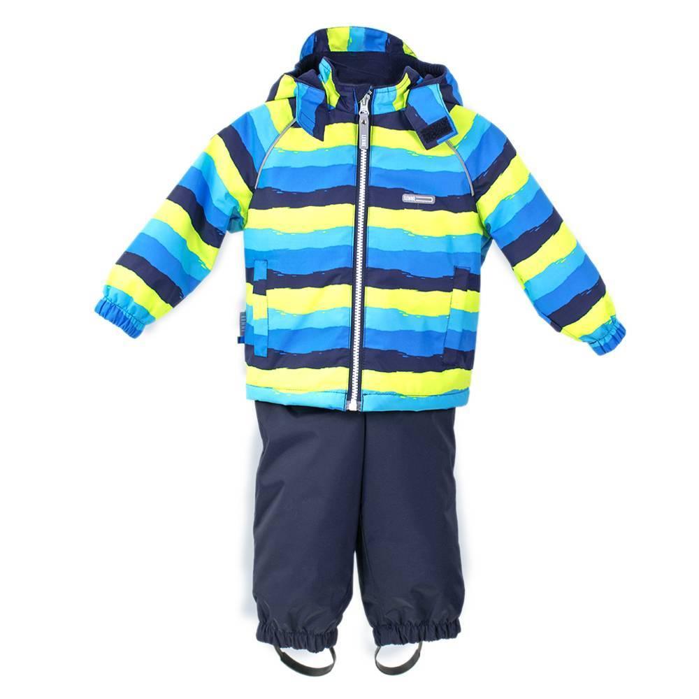 Комплект для мальчика LENNE демисезонный куртка полукомбинезон WAVE 18212/6370