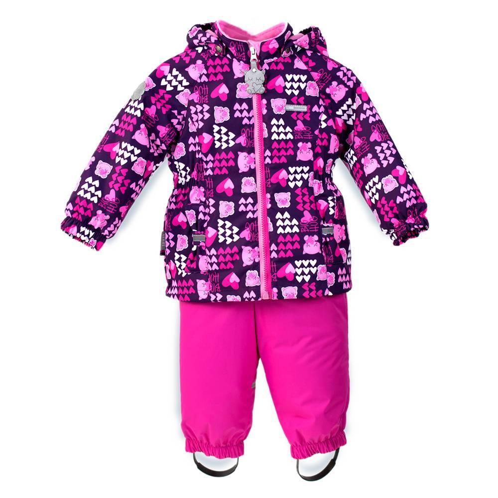 Комплект для девочки LENNE демисезонный куртка полукомбинезон BRI 18213/6033