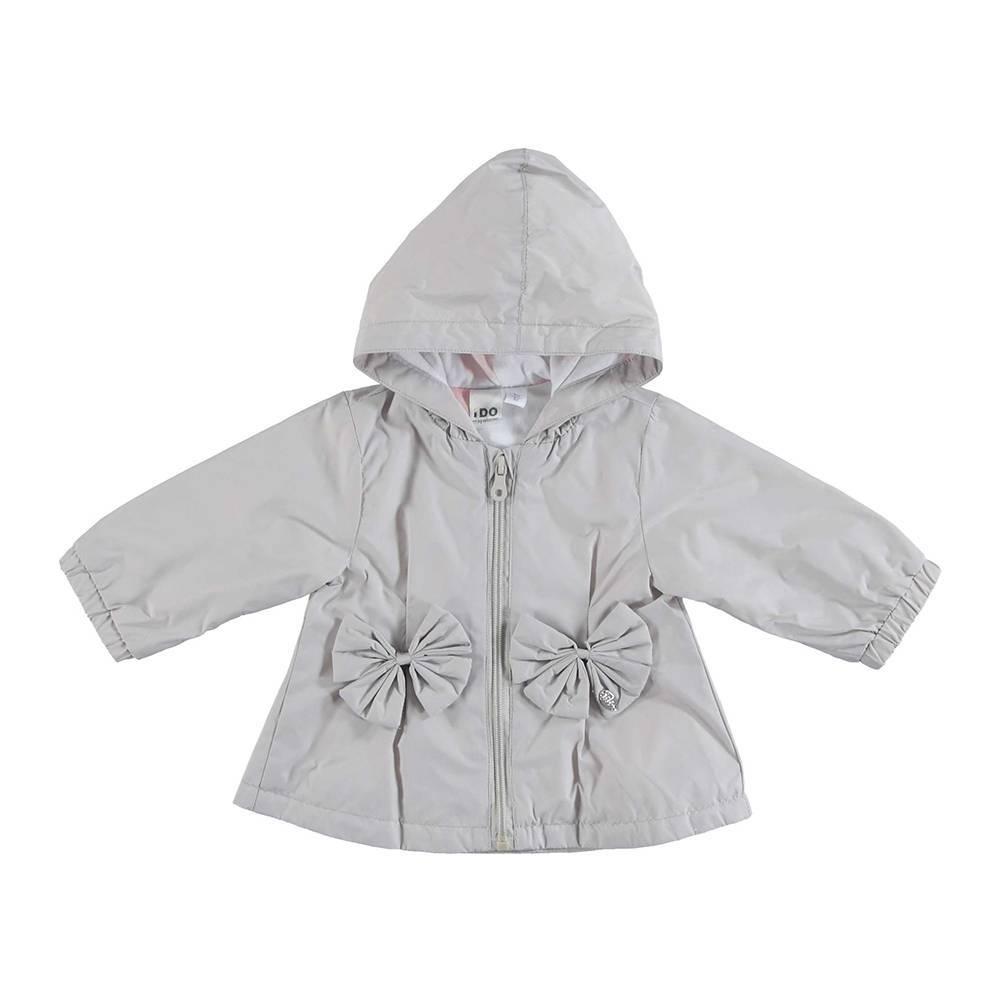 Куртка для девочки iDO демисезонная ветровка трикотажная подкладка 4.U149.00/0571