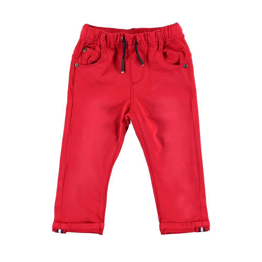 Джинсы для мальчика iDO стильные с модными царапинами 4.U246.00/2256