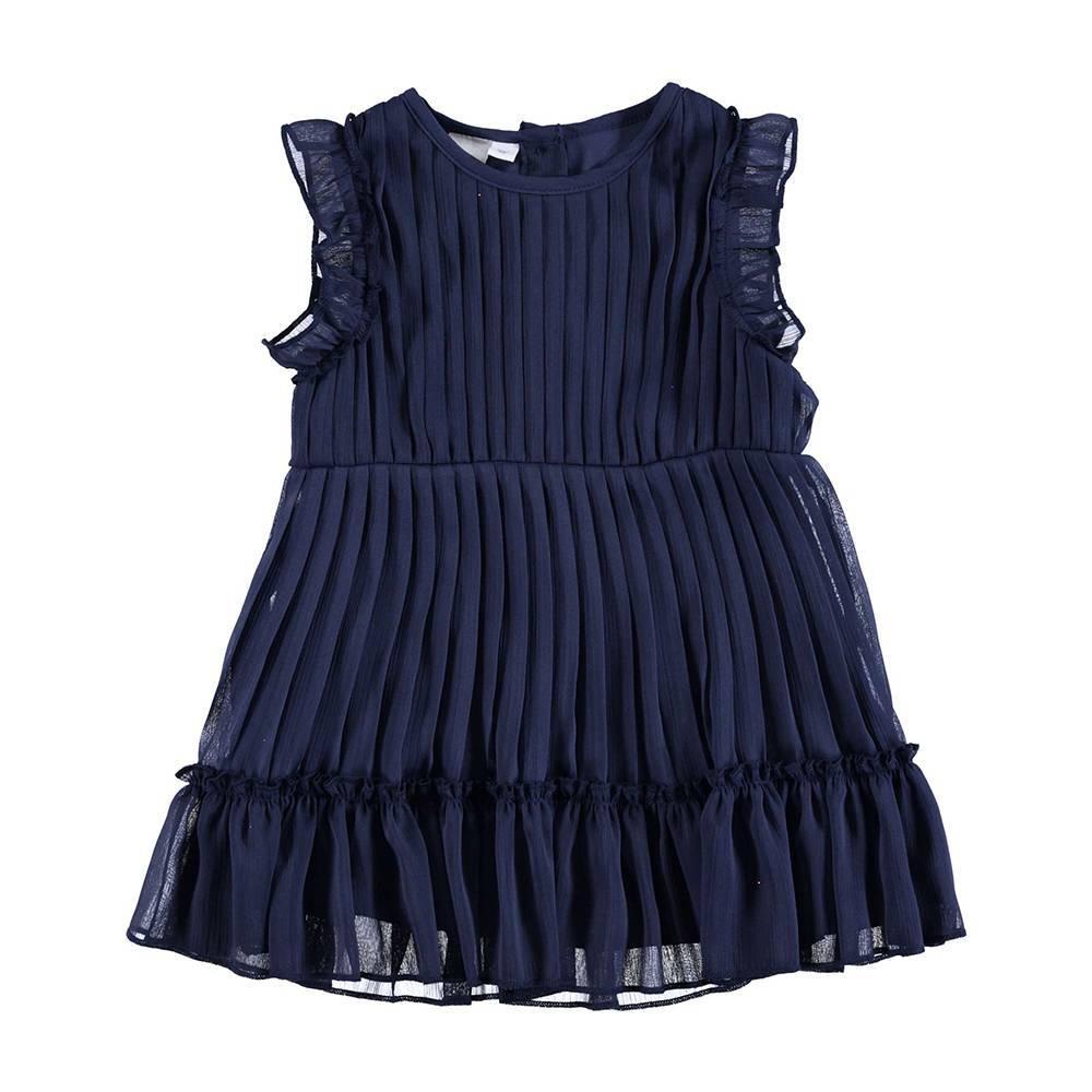 Платье для девочки iDO летнее нарядное елегантное плиссированное 4.U334.00