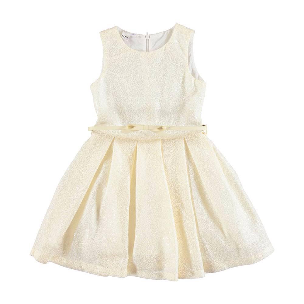 Платье для девочки iDO летнее со складками на подкладке 4.U575.00/0157