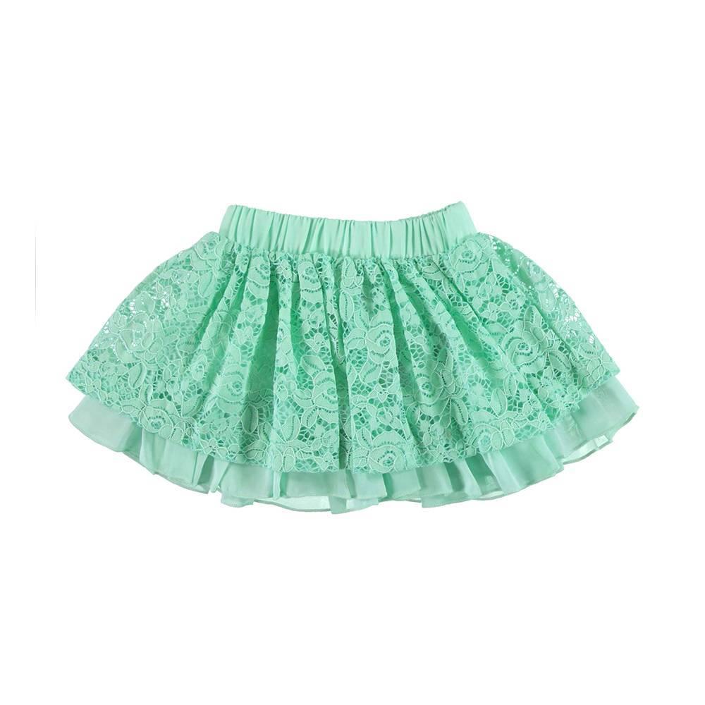 Юбка для девочки iDO летняя пышная на подкладке 4.U759.00/4842