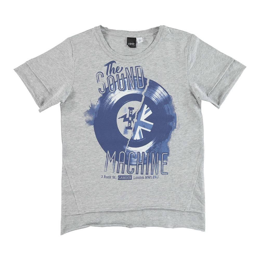 Футболка для мальчика iDO футболка хлопок трикотаж принт 4.U825.00/8992
