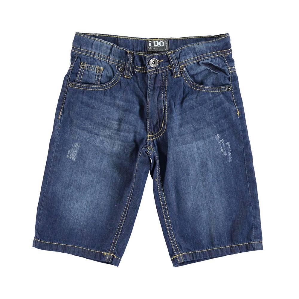 Шорты для мальчика iDO подростка джинсовые 4.U839.00/7450