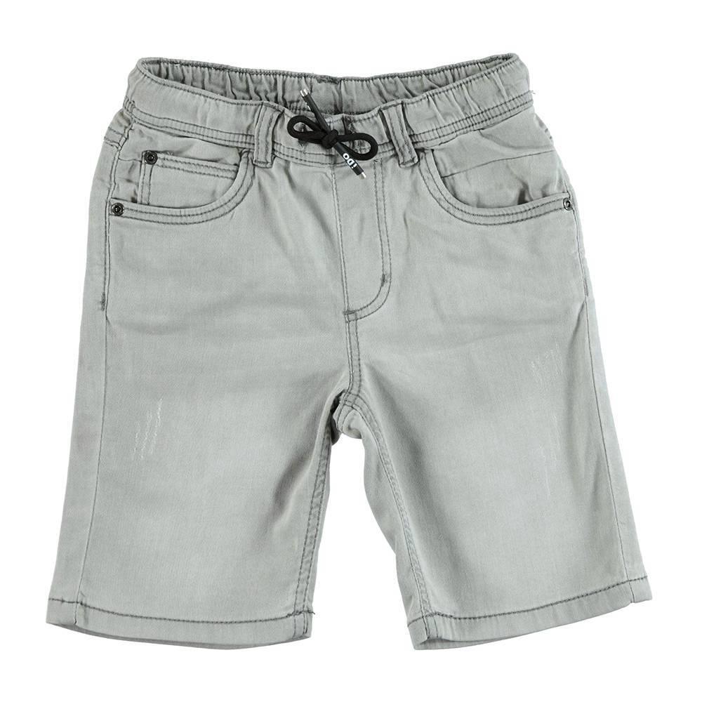 Шорты для мальчика iDO джинсовые выбеленные 4.U843.00/7450
