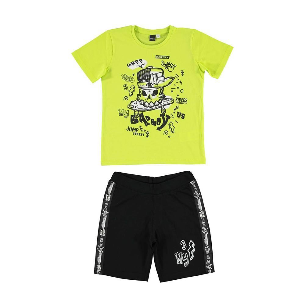 Комплект для мальчика iDO летний хлопок трикотаж принт 4.U853.00/8376/