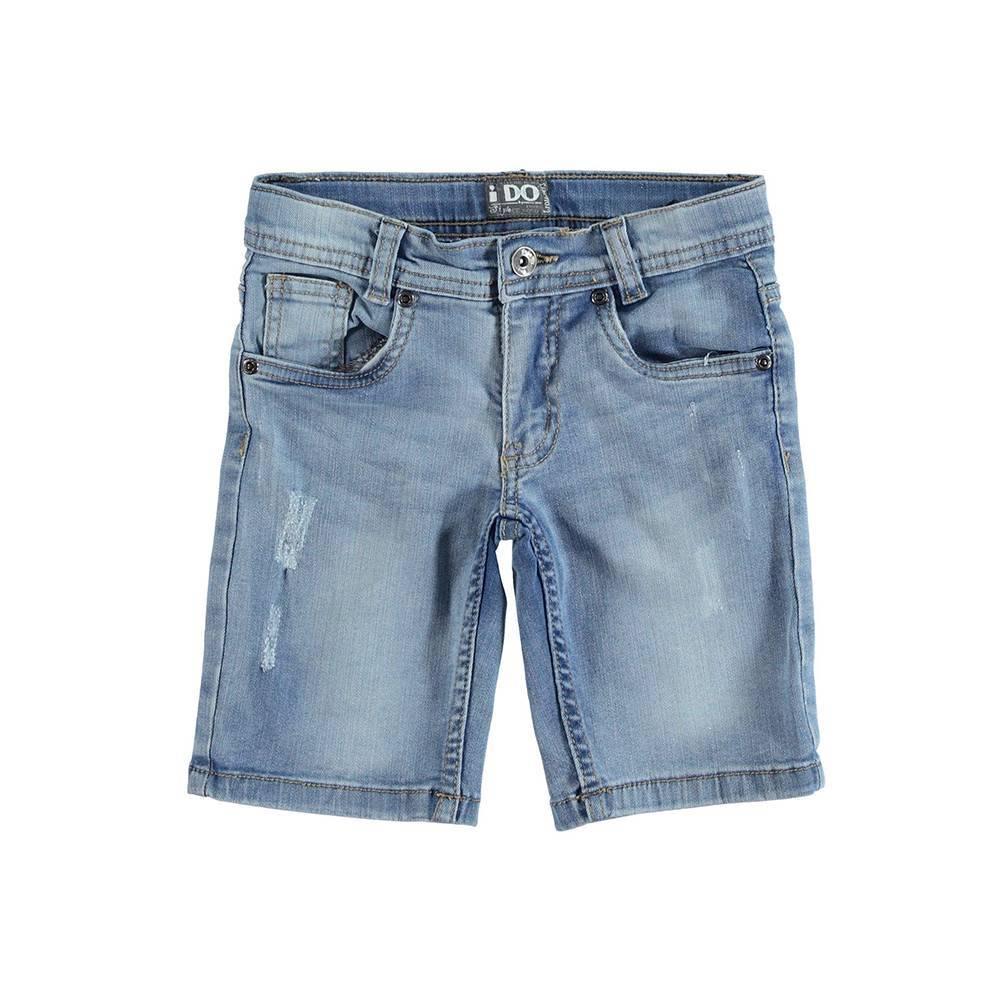 Шорты для мальчика iDO джинсовые 4.U844.00/7113