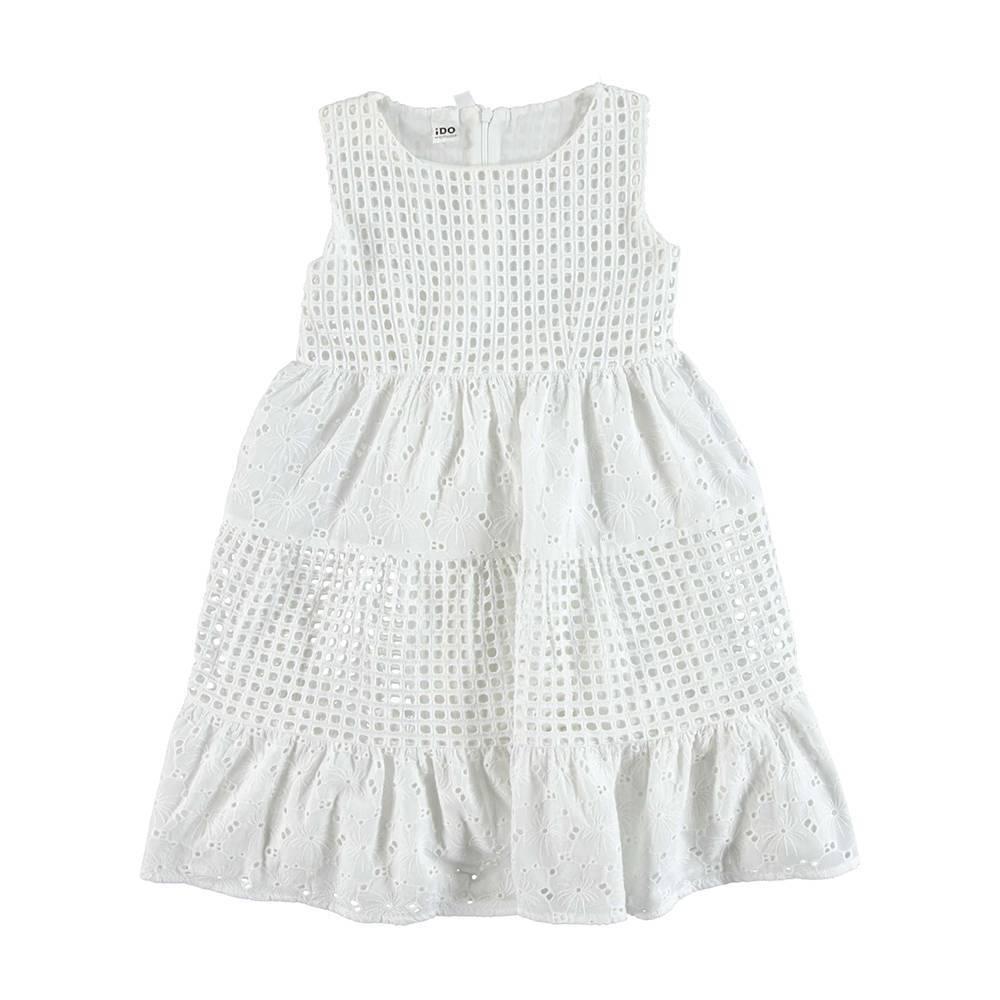 Платье для девочки iDO летнее на подкладке 4.U910.00/0113