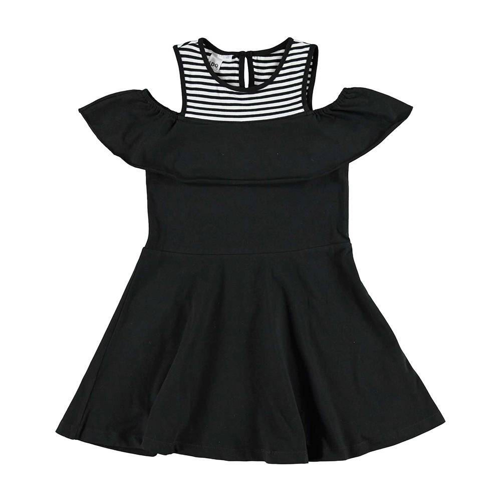 Платье для девочки iDO хлопок трикотаж полосатый 4.U915.00/0658