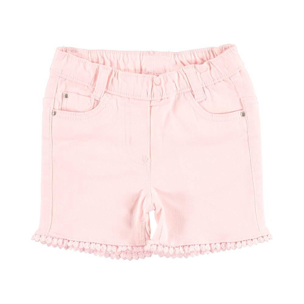 Шорты для девочки iDO саржа розовый 4.U780.00/2711